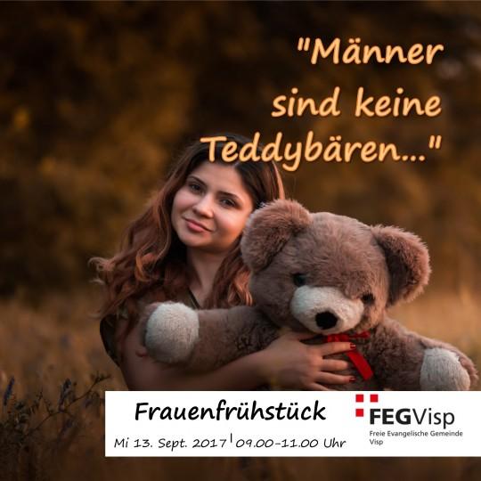 Männer sind keine Teddybären