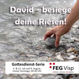 David - Besiege Deine Riesen