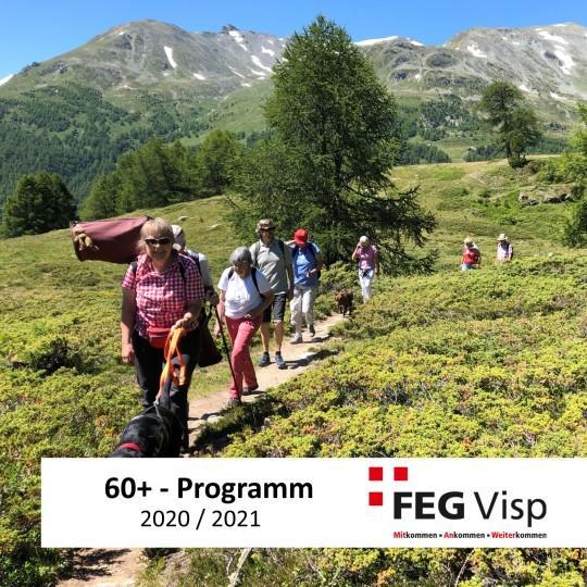 60+ Neues Programm planen