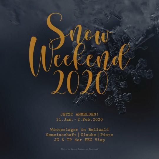 Snow-Weekend 2020