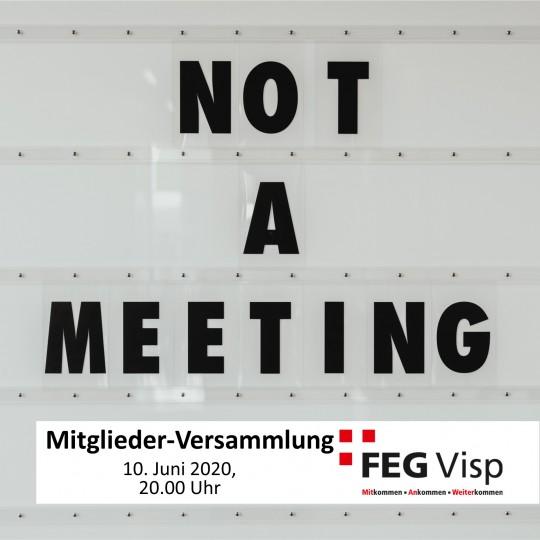 FEG Mitglieder-Versammlung Frühling 2020